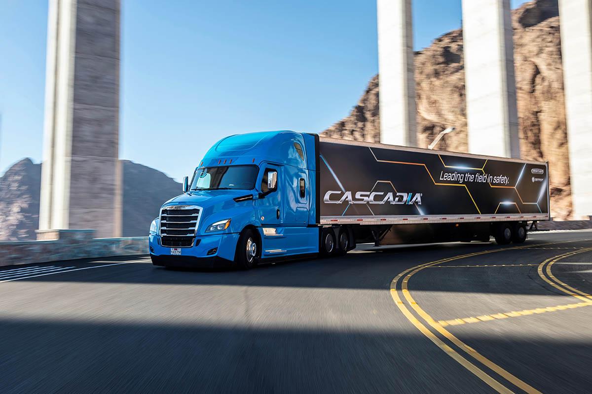 Daimler's Cascadia system includes numerous driver assist technologies. Photo: Daimler
