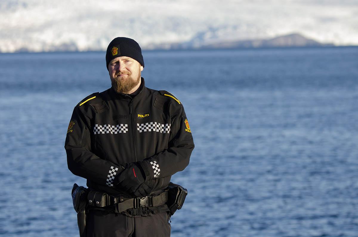 Espen Olsen, Police Chief Inspector of Svalbard, Norway. Photo: AUVSI