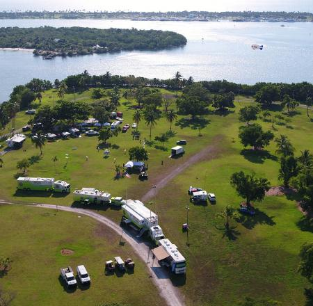 The Airborne International Response Team holds its annual UAS disaster camp and exercise on the grounds of Florida International University's Biscayne Bay Campus in Miami. Photo: Chris Todd