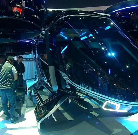 Bell's Nexus air taxi concept vehicle. Photo: AUVSI