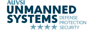 Unmanned Systems Defense Protection Security Logo