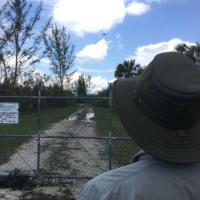 Florida State University Emergency Management and Homeland Security program faculty member Jarrett Broder flies a damage assessment mission in Collier County in the aftermath of Hurricane Irma. Photo: David Merrick