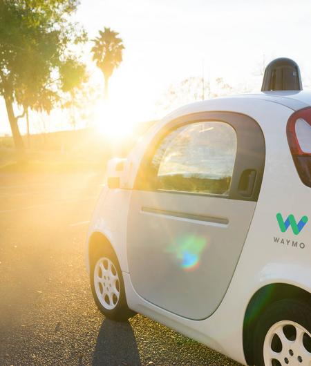 "Waymo's self-driving ""reference"" vehicle, Firefly 2. Photo: Waymo"