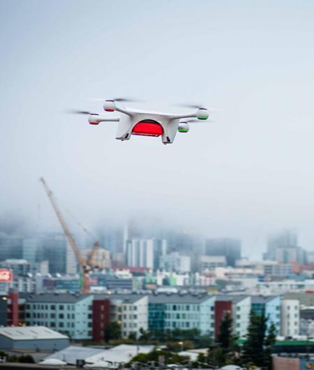 A Matternet delivery drone. Boeing's HorizonX Ventures arm has invested in the company. Photo: Matternet