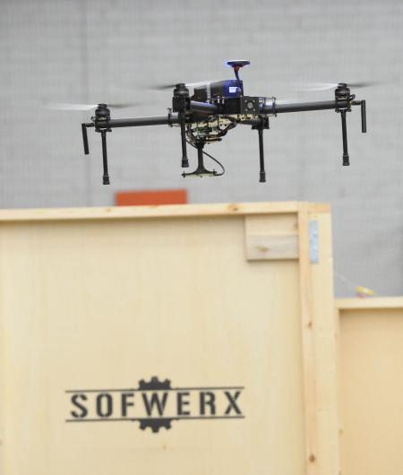The Sofwerx ThunderDrone experimentation continues to focus on the autonomy of small UAS in congested spaces. Photo: Sofwerx