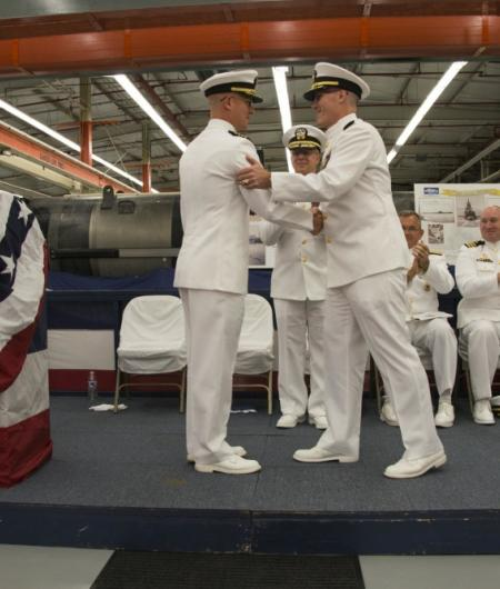 The Navy turns over command of DEVRON 5 and sets up UUVRON 1. Photo: U.S. Navy