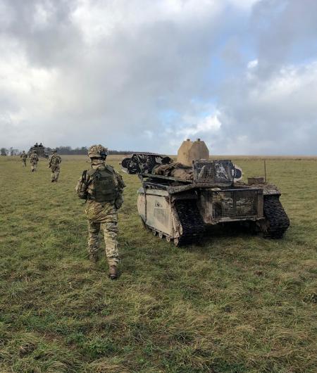 Milrem Robotics' UGVs tested during Army Warfighting
