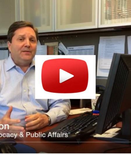 AUVSI's Tom McMahon discusses the FAA reauthorization bill.
