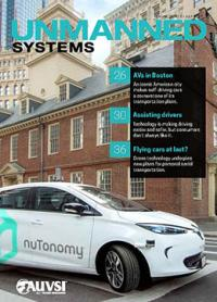 A self-driving car from Nutonomy in Boston.