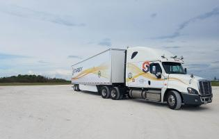 Starsky Robotics wants to make trucks self-driving on the highway and remote-controlled by people when they are off the highway. Photo: Starsky Robotics