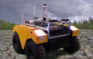 The U.S. Army will test software for off-road UGV driving on a Warthog UGV. Photo: Jim Nelson/Army Research Laboratory