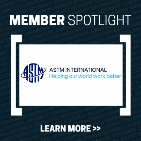 Member Spotlight with ASTM International logo
