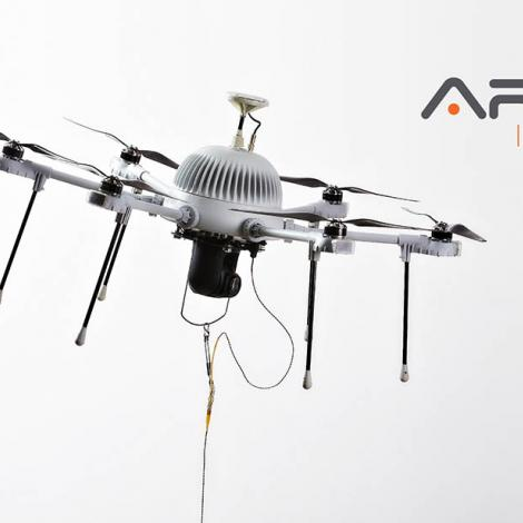 Aria Insights offers AI-powered drones from parent company CyPhy Works. Photo: AI