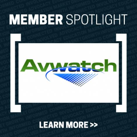 Member Spotlight Image with Avwatch logo