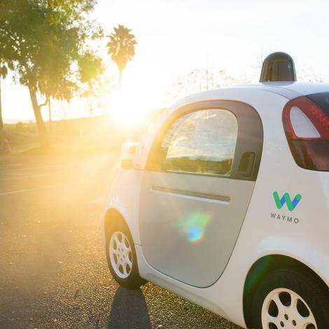 "Waymo's self-driving ""reference"" vehicle, Firefly 2. Photo: Waymo"