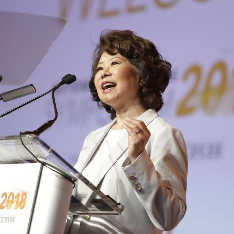 U.S. Transportation Secretary Elaine L. Chao. Photo: Scott Campbell