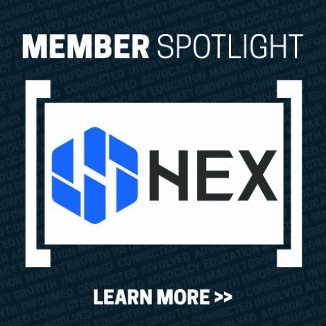 Member Spotlight with Hex Technology logo