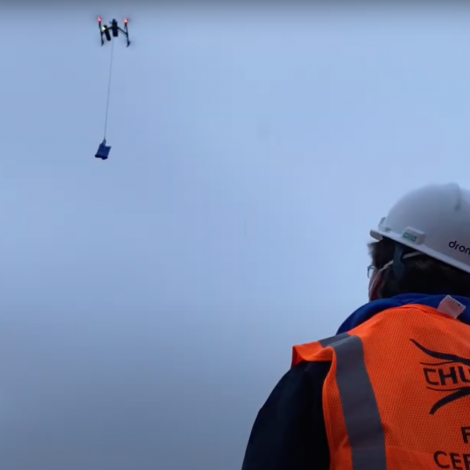 COVID Humanitarian UAS Operation (CHURP) Concludes Delivery Test in Syracuse