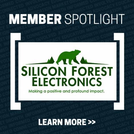 Member Spotlight Image with Silicon Forest Electronics logo