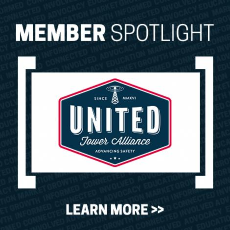 Member Spotlight Image with United Tower Alliance logo