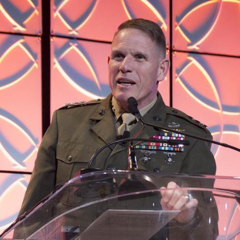 Lt. Gen. Robert S. Walsh, UMC. Photo: AUVSI