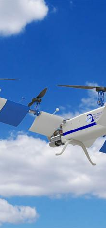Hampton, Va.-based Advanced Aircraft, a semi-finalist in the Startup Showdown at AUVSI's Xponential show in May, recently announced it is accepting pre-orders and will start delivery on its first aircraft — a high-endurance, hybrid-powered multi-rotor cal